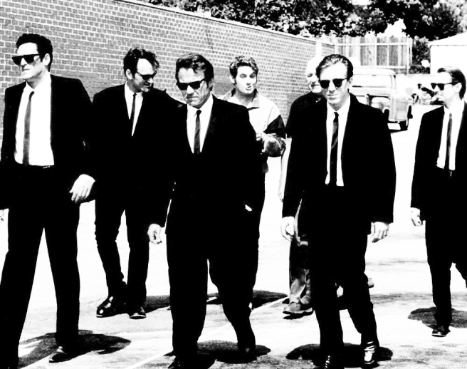 Reservoir Dogs 1992 I Draw On My Wall
